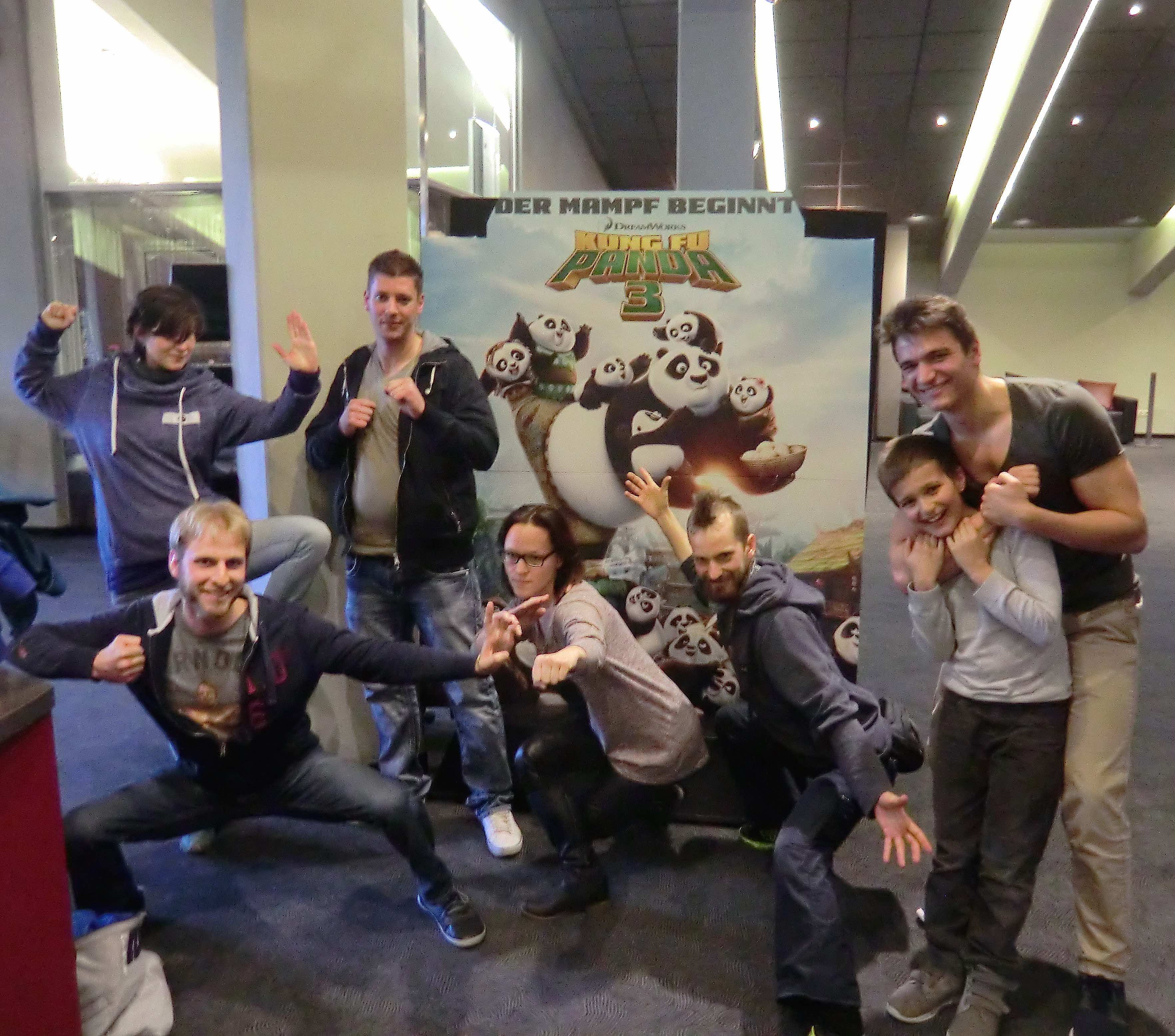 Kino mit Legende Kung Fu Panda 3