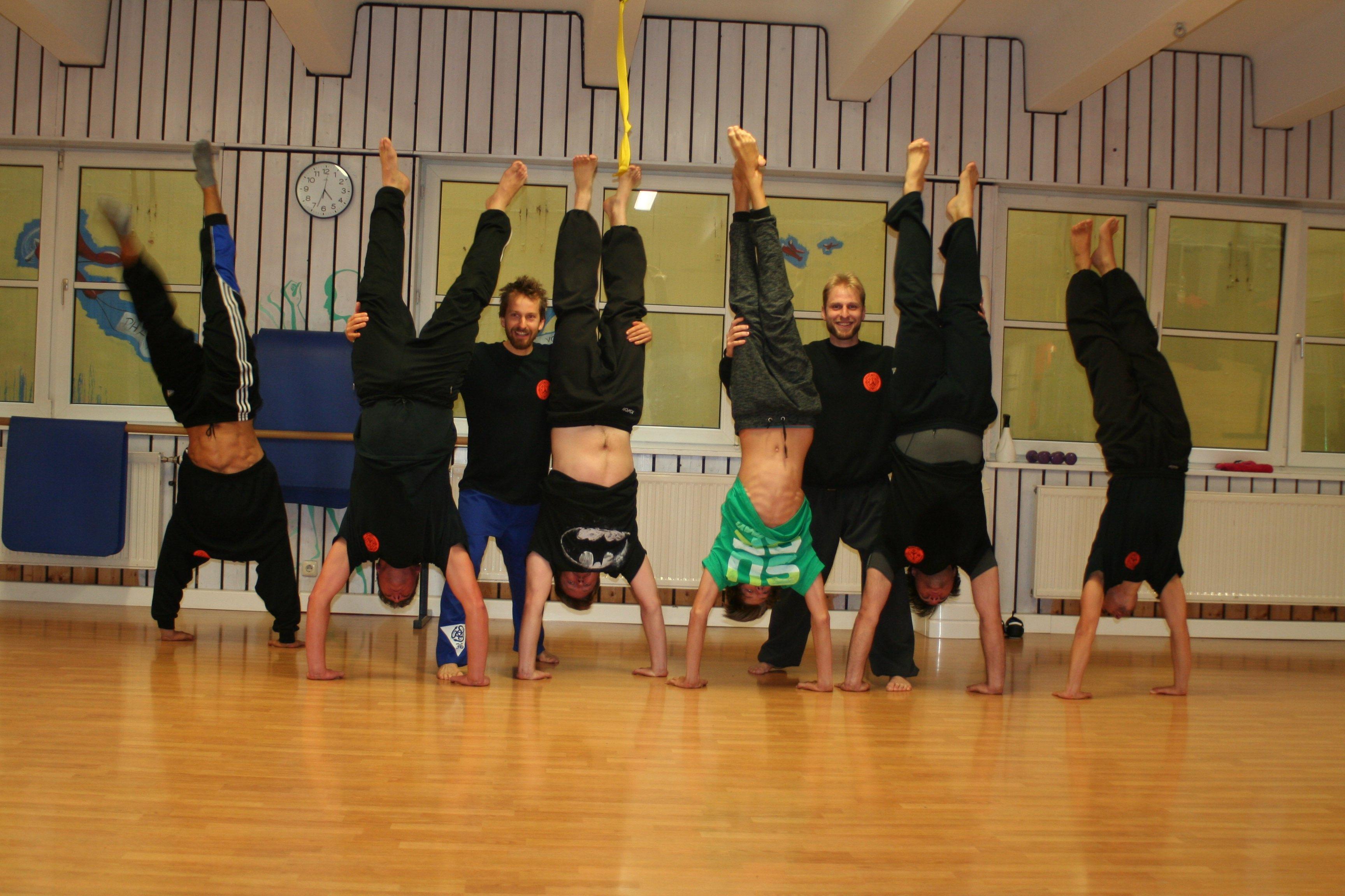 Akrobatik Seminar im Oktober 2016