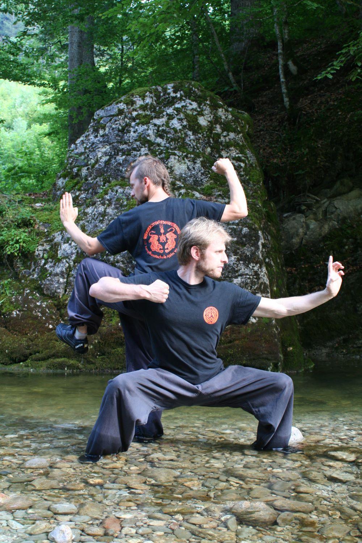 Arno und Stefan Wunsch Training in der Natur