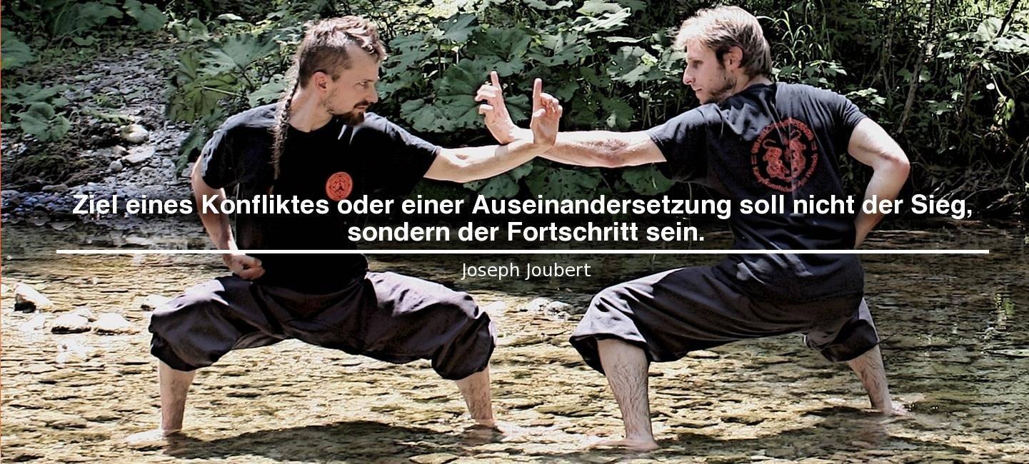 Stil, Logo und Philosophie Kampfkunstschule Wunsch